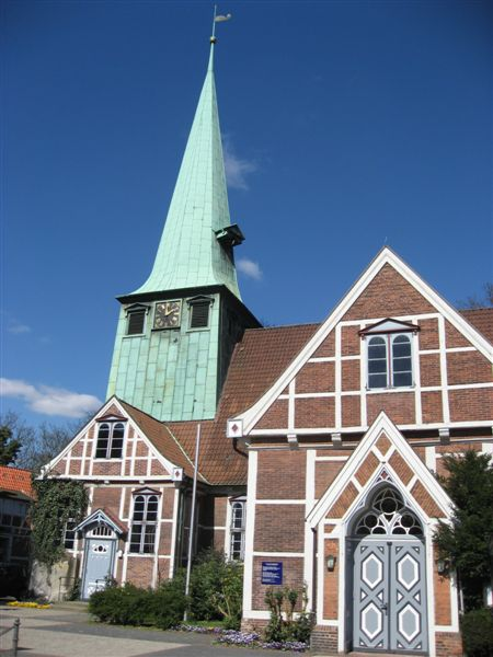 Kirchengebäude St. Petri und Pauli zu Bergedorf